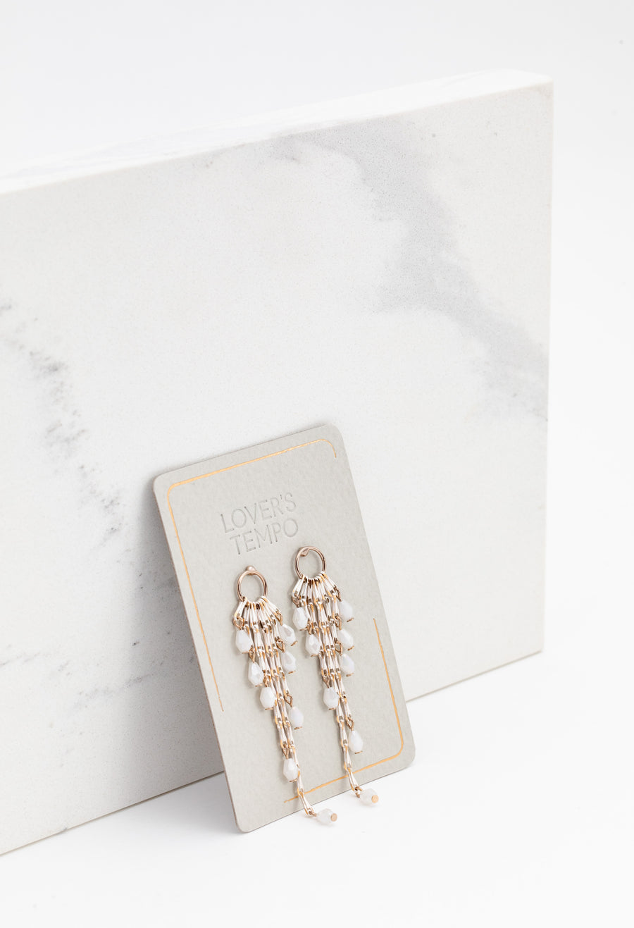 Cascade Drop Earrings
