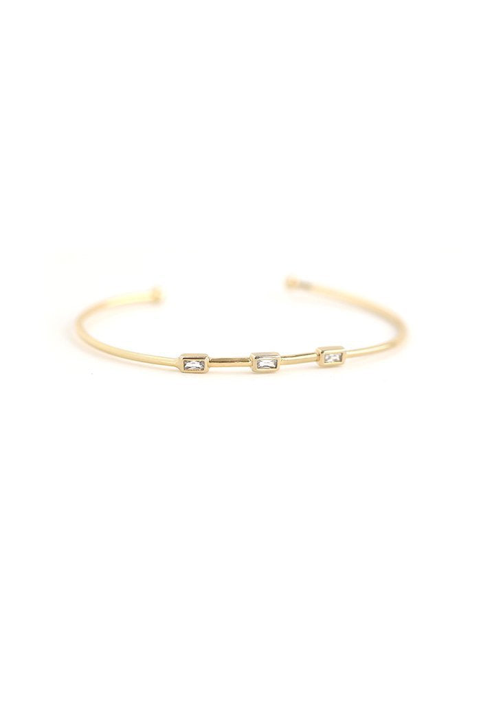 Lyon Bar Crystal Bangle