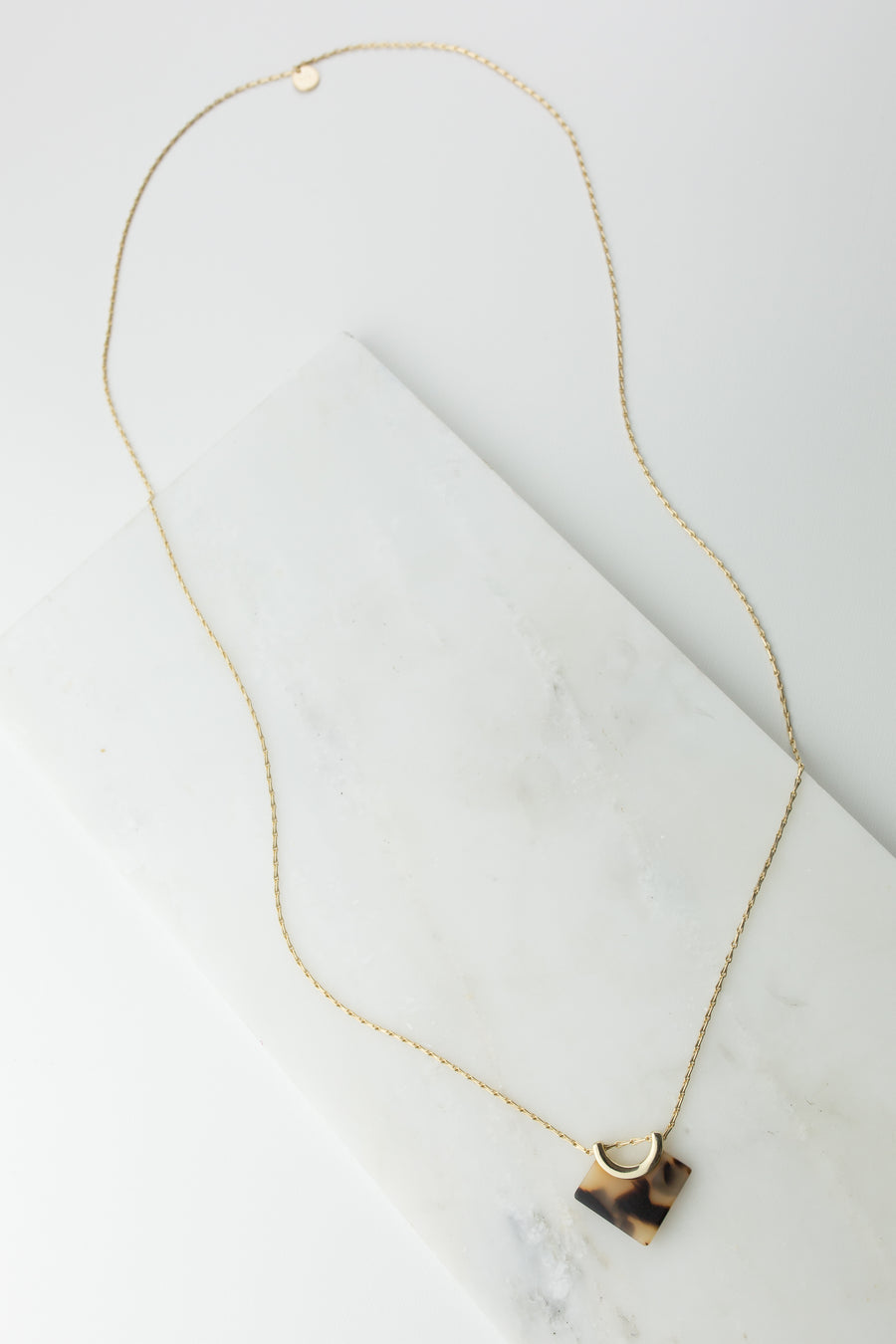 Libra Long Necklace