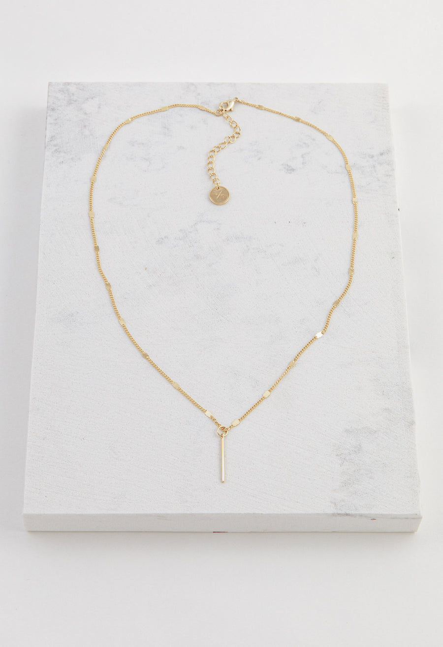 Everly Bar Necklace