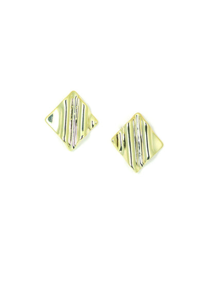 Tidal Diamond Large Earrings
