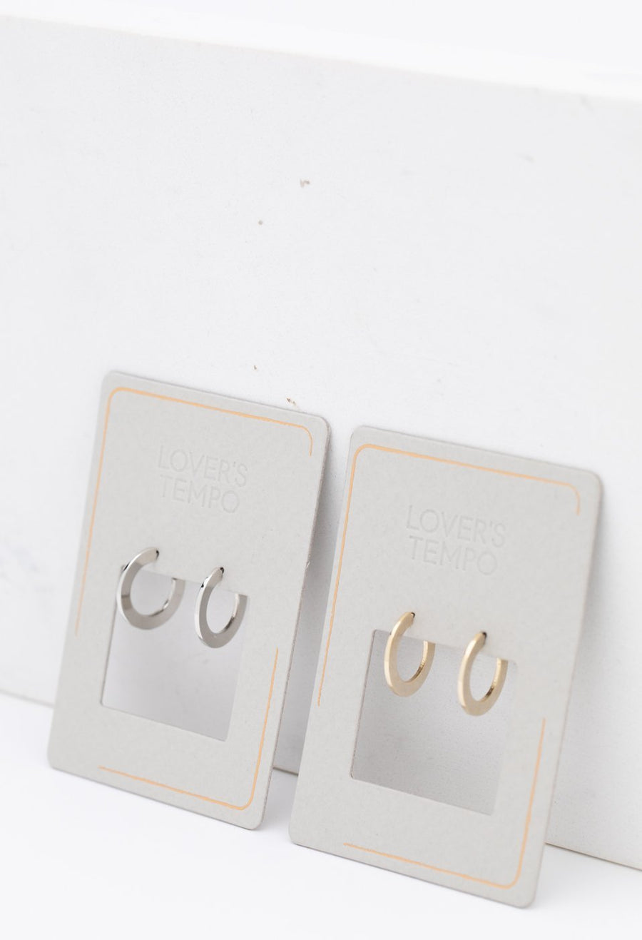 Gloria Small Hoop Earrings