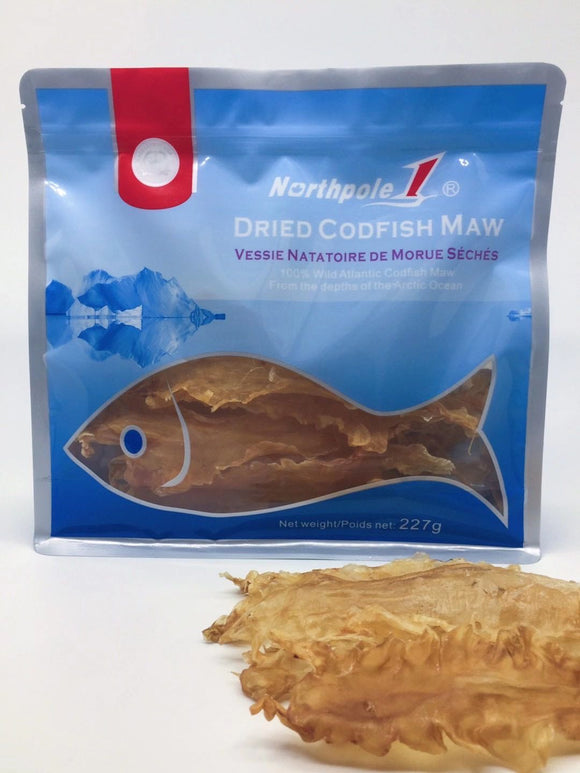 Northpole 1 Dried Codfidh Maw  (20-24 pieces ,  227g)