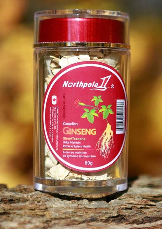 Northpole 1 Canadian Ginseng 60g (Slice)