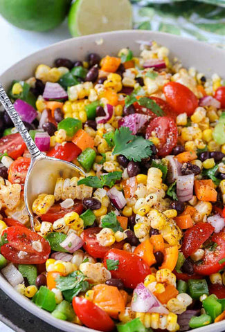 Mexican Corn and Black Bean Salad