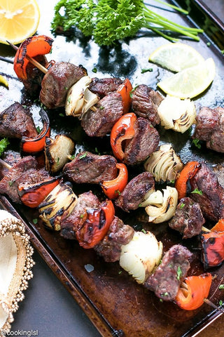 Lamb Skewers (choose your marinade)