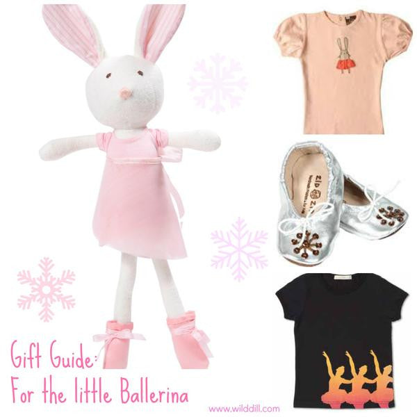 ballerina gift guide graphic