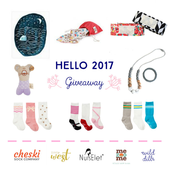 Hello 2017 - Baby Gifts Giveaway!