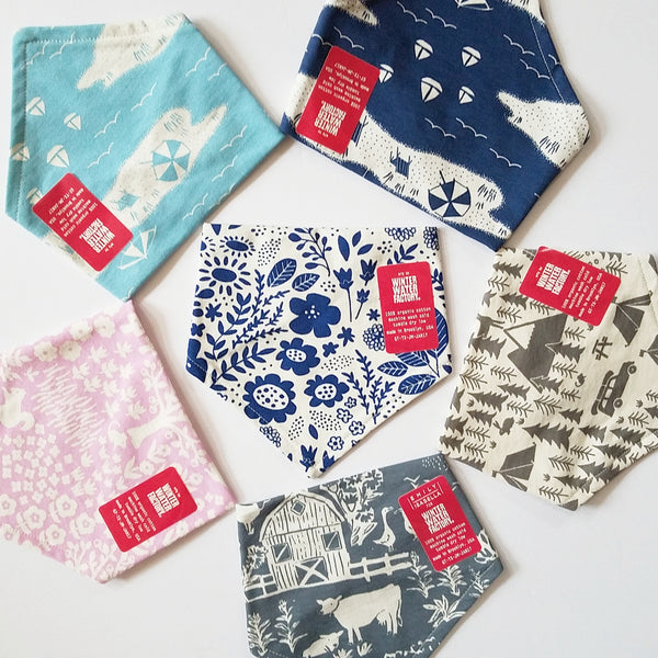 New! from Kerchief Bibs from Winter Water Factory