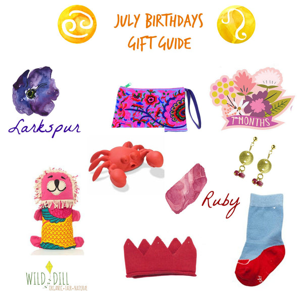 July >> Birthday Gift Guide