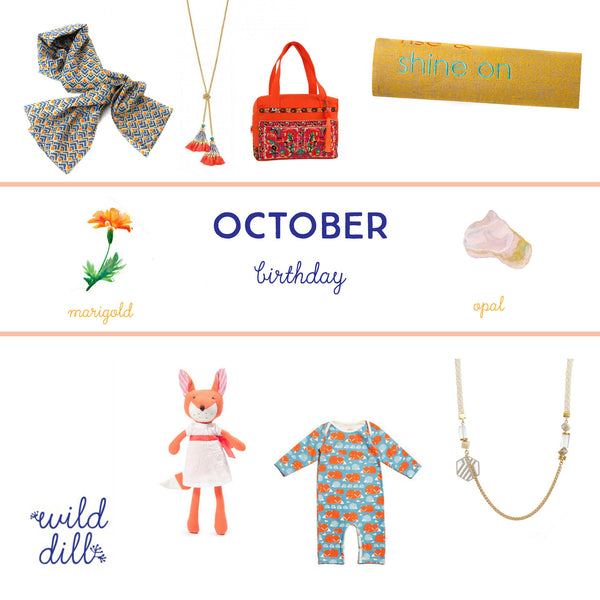 October Birthday >> Gift Guide