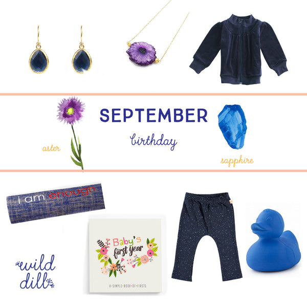 September Birthday >> Gift Guide