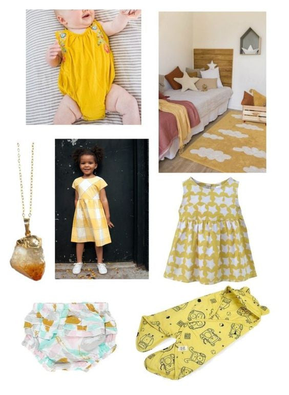 mustard yellow kids wear trend report