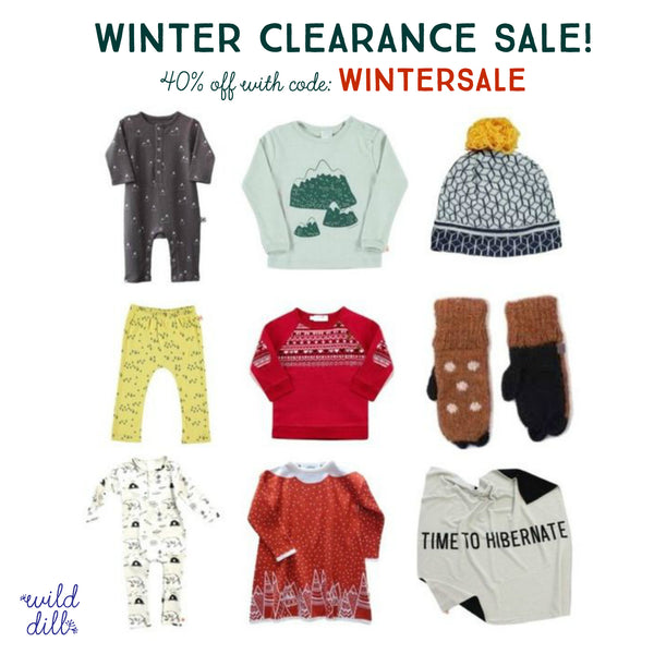 Winter Clearance Sale!