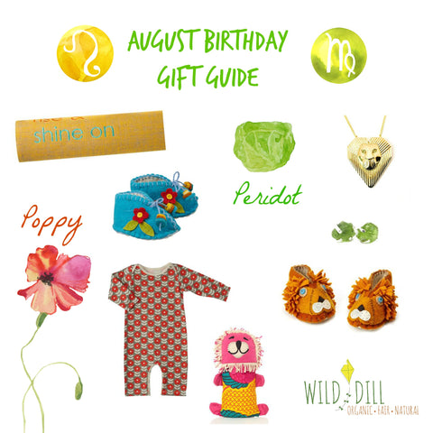 august birthday gift guide for baby and mom