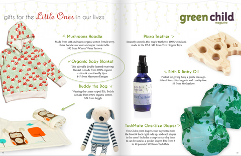 Green child mag - mezoome blanket