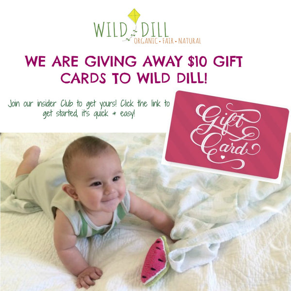 $10 gift card to Wild Dill