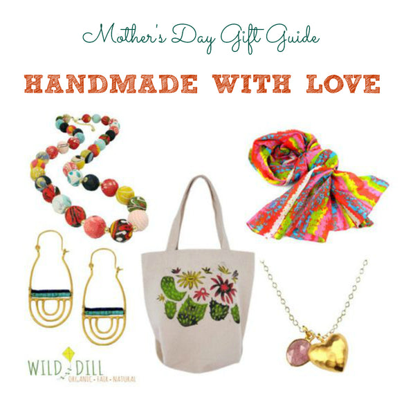 handmade with love mother's day gift guide