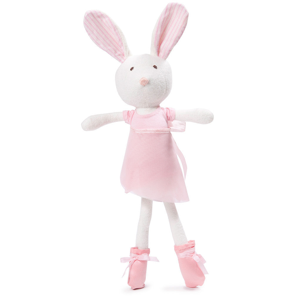 Hazel Village Organic Ballerina Rabbit Doll , Play - Hazel Village, Wild Dill  - 1