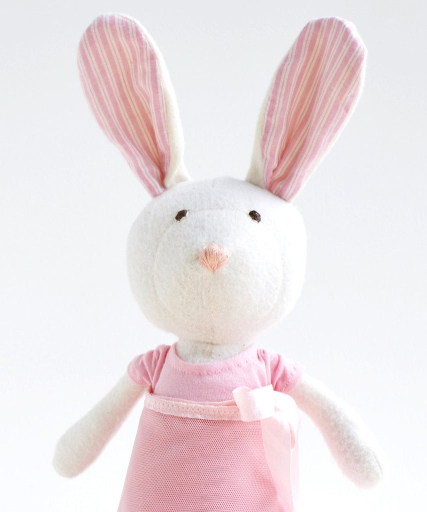 Hazel Village Organic Ballerina Rabbit Doll , Play - Hazel Village, Wild Dill  - 2