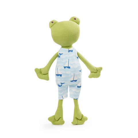 Lewis Toad Organic Doll - Limited Edition,Hazel Village  - Wild Dill