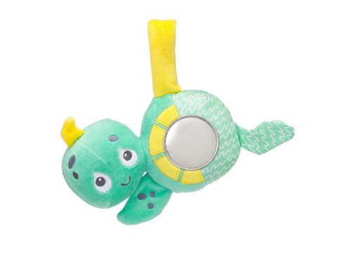 Olive & Pickles Bunny Earls Crinkle Teether Toy
