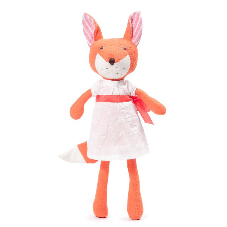 Hazel Village Organic Girl Fox Doll , Play - Hazel Village, Wild Dill