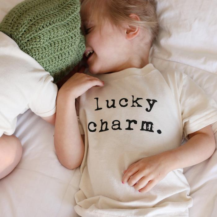 Lucky Charm Organic Tee,Tenth and Pine  - Wild Dill