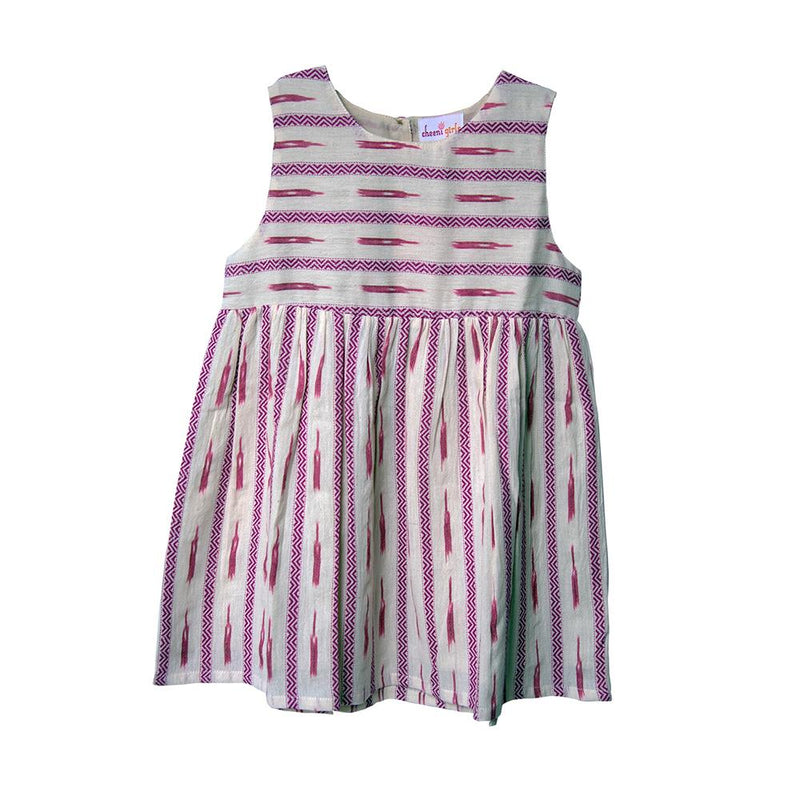 Pink Bobby Fair Trade Dress,Cheeni Girls  - Wild Dill