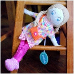 Sophia Fair Trade Knit Doll - Limited Edition , Play - Pebble, Wild Dill  - 2