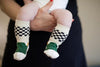 Stay Put Box of 3 Baby Boy Knee Socks , Footwear - Cheski Sock Co, Wild Dill  - 5
