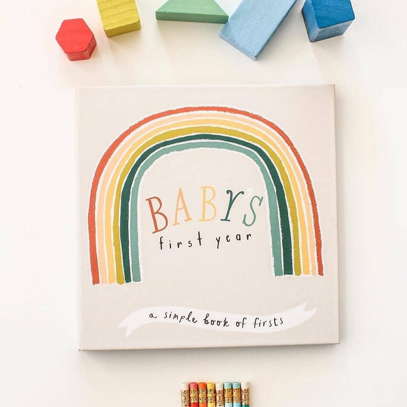 Little Rainbow Baby Memory Book,Lucy Darling  - Wild Dill