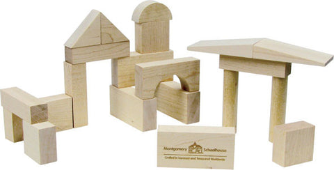 Junior Builder: 41 Piece Wood Block Set
