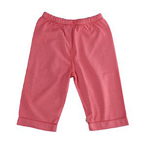 Babysoy Baby Slip-On Pant - Pink,Babysoy  - Wild Dill