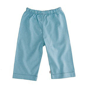 Babysoy Baby Slip-On Pant - Blue 0-3 months, Baby Wear - Babysoy, Wild Dill