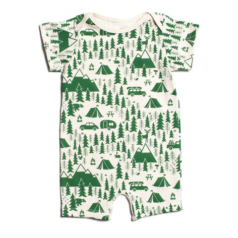 Ideo Let's Save the Planet Pink Organic Onesie