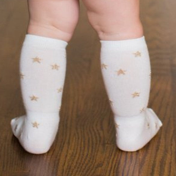 Baby Girl Pretty Socks - 3 Pack,Cheski Sock Co  - Wild Dill
