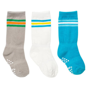 Mixed Classic Athletic Baby Knee Socks - 3 Pack,Cheski Sock Co  - Wild Dill
