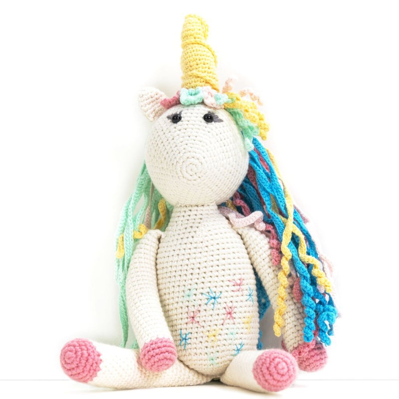 Rose the Unicorn Stuffed Animal,BebeMoss  - Wild Dill