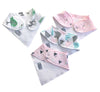 Enchanted Forest - Organic Cotton Bib Set,Little Kims  - Wild Dill