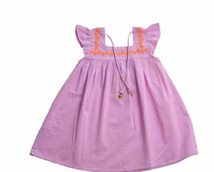 Pink Bella Fair Trade Dress,Cheeni Girls  - Wild Dill