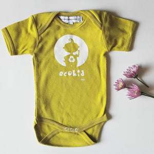 Ideo Eco-Kid organic onesie - Green,Ideo  - Wild Dill