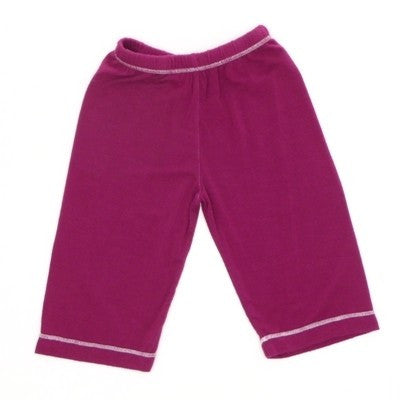 Kicky Pants Bamboo Basic Pants - Orchid , Baby Wear - Kicky Pants, Wild Dill