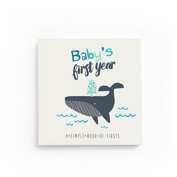 Nautical Baby Keepsake Memory Book,Lucy Darling  - Wild Dill