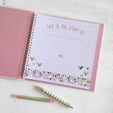 Little Love Swan Memory Book , Books - Lucy Darling, Wild Dill  - 2