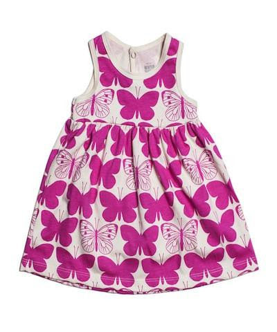 Winter Water Factory Butterfly Tank Dress - 12m,Winter Water Factory  - Wild Dill