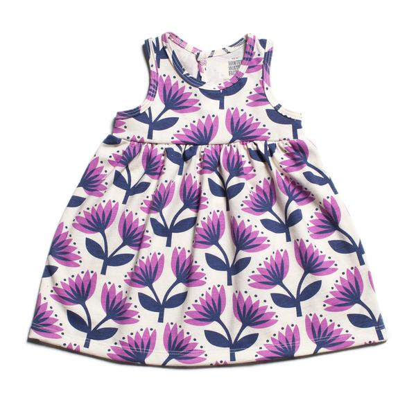 Purple Lotus Dress