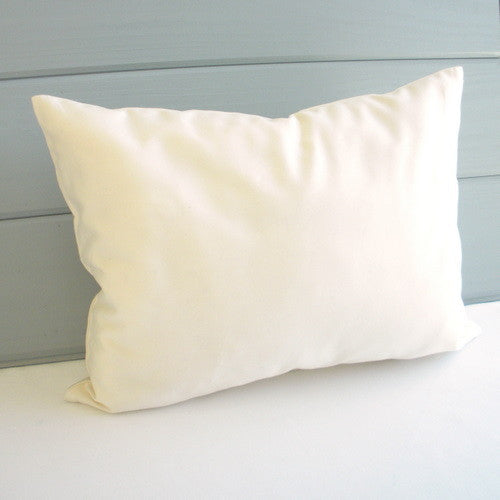 Organic Cotton Toddler Pillowcase - Natural , Crib Bedding - Naturepedic, Wild Dill  - 2