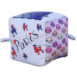 Paris - Organic Cotton Play Block , Play - Globe Totters, Wild Dill  - 1