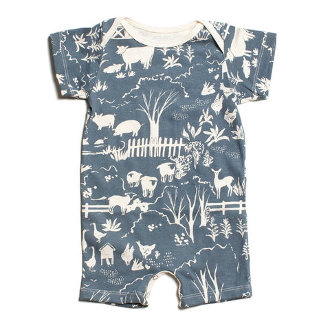 Marble Print fleece baby dress